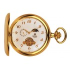 Royal London - Gold Plated Mechanical Pocket Watch